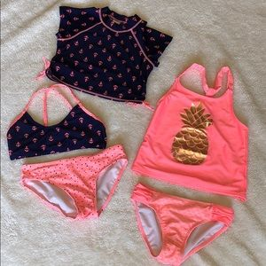 Size 7/8- 5 Swim Pieces